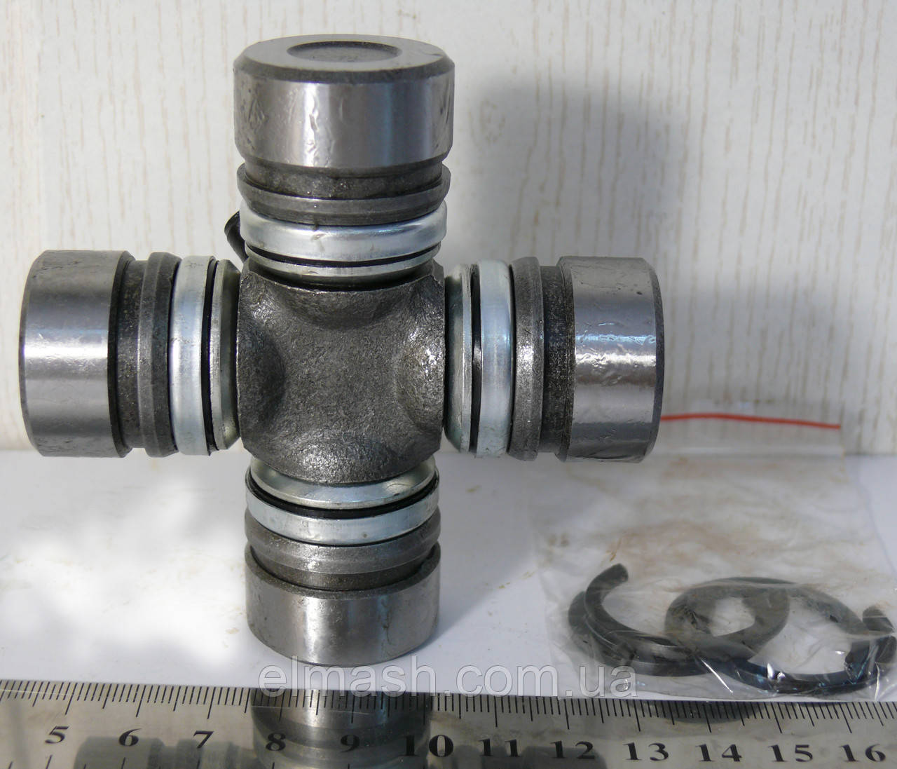 Крестовина вала карданного ГАЗ 2410, 31029 (со стопорными кольцами) Стандарт (пр-во ГАЗ)