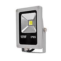 Прожектор светодиодный 10Вт 220В плоский (гарантия: 1год), фото 1