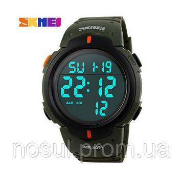 SKMEI Military ARMY спортивные часы зеленые 1068
