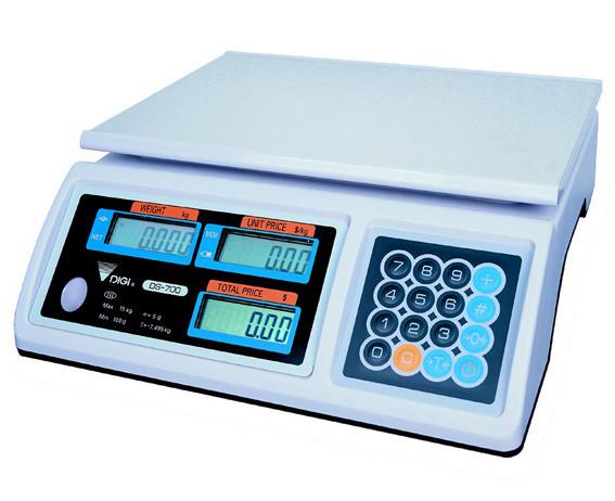 Весы настольные торговые Digi DS 700 B (30 кг) ― УкрВесы