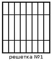 Кованая решетка 1