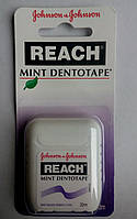 Reach зубная нить вощеная мятная 20 м