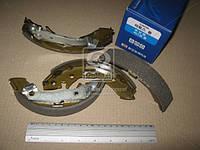 Колодка тормозная баробанного HYUNDAI ATOS, SANTRO заднего (производитель SANGSIN) SA096