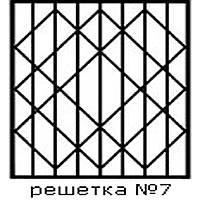 Кованая решетка 7