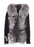 Куртка из астрогана с чернобуркой, фото 1