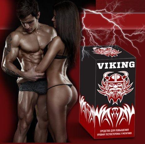 VIKING (викинг) - капли для потенции. Фирменный магазин. Цена производителя.