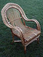 Кресло плетеное из лозы