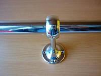 Крепление кронштейн монолитный сквозной R 50 для трубы джокер