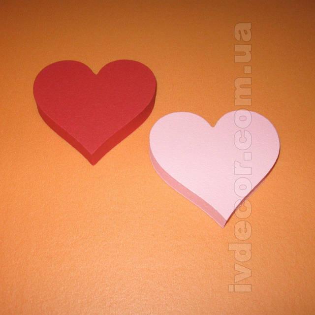 Сердце из экструдированного пенополистирола XPS (№17 из каталога сердец) .Размеры - 10*2 см.