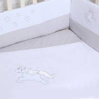 """Детский постельный комплект """"Unicorn""""  Верес™ 6ед., фото 1"""