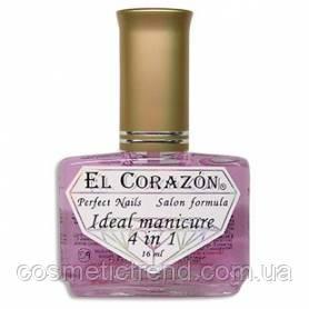 Восстановитель с хитозаном и комплексом защитных факторов №427 Ideal manicure 4 in 1 El Corazon, фото 2
