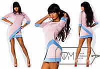 Платье женское розовое МИС/-595