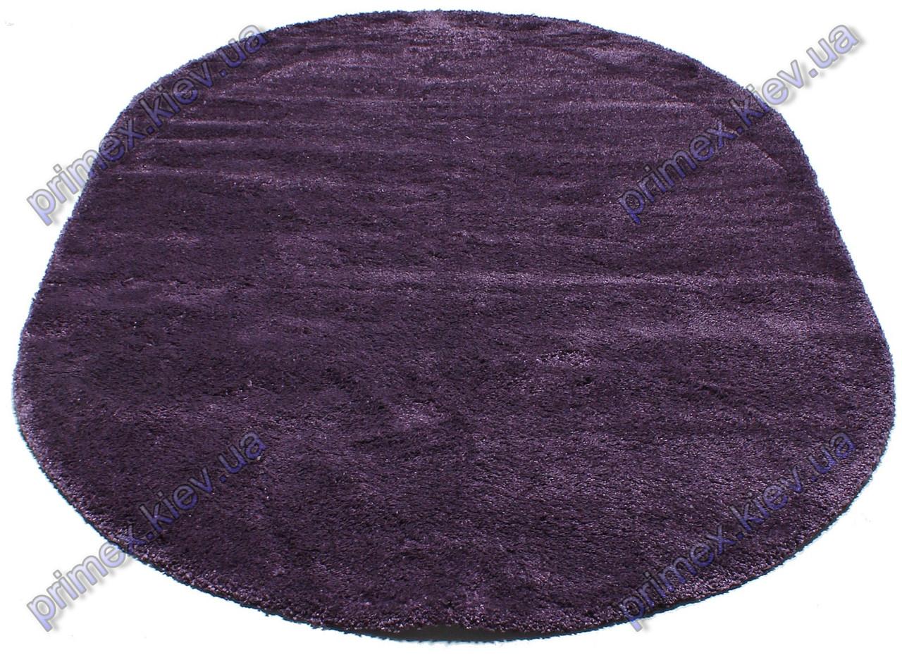 Ворсистый ковер Фристайл shaggy, однотонный, цвет фиолетовый