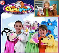 Детское полотенце-покрывало (игрушка) Cuddle Uppets