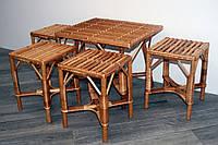 Комплект плетеной мебели 4+1, фото 1