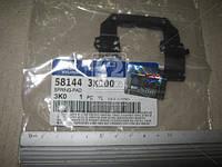 Прижимная пластина тормозных колодок (производитель Mobis) 581443K100