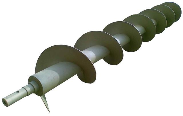 Шнек (розгрузочный) предварительной очистки К-527 / К-547