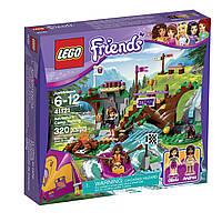 Конструктор LEGO Friends Спортивный лагерь, сплав по реке