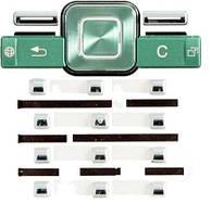 Клавиатура для Sony Ericsson T650i, Зеленая /Кнопки/Клавиши /сони эриксон