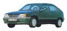 Фаркопы на Opel Kadett (1984-1991)