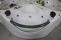 Ванна угловая с гидромассажем и пневмокнопкой Appollo АТ-2121 1520*1520*710 мм