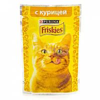 Пауч для котов Friskies с курицей, 100 г