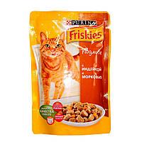 Пауч для котов Friskies с индейкой и морковкой, 100 г