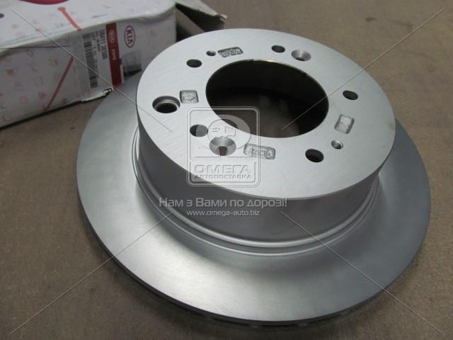 ⭐⭐⭐⭐⭐ Диск тормозной задний Kia Sorento 06- (производство  Mobis)  584113E500