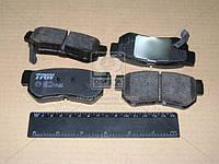 Колодка тормозная HYUNDAI ELANTRA, SANTA FE, TUCSON, KIA MAGENTIS заднего (производитель TRW) GDB3284