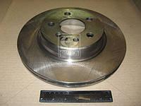 Диск тормозной MB S-CLASS задний, вентилируемый(производитель TRW) DF2596