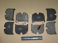 Колодка тормозная MB E-CLASS передний (производитель TRW) GDB1599
