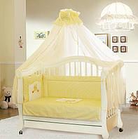 Постель для новорожденных в кроватку