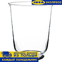 Ваза/  фонарь ПОМП ИКЕА (Икея/Ikea)