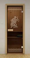 Стеклянная дверь для бани РИМ ALDO 690х1890 мм, фото 1