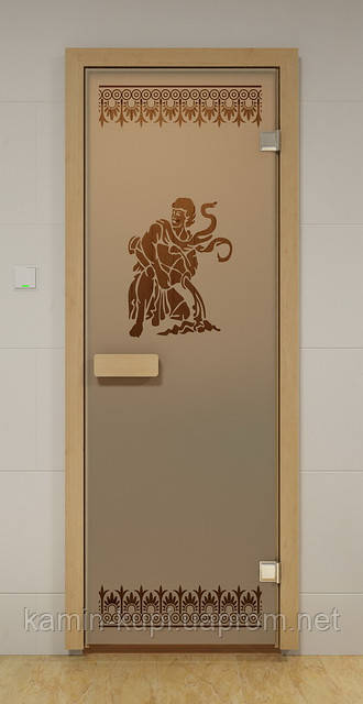 Стеклянная дверь для сауны ЛАЦИО ALDO 690х1890 мм, фото 1