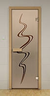 Стеклянная дверь для сауны ВИХРЬ ALDO 690х1890 мм