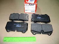 Колодка тормозная BMW 5 (E34), 7 (E38), 8 (E31) передний (производитель TRW) GDB1269