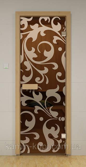 Дверь для бани ПЕТЕТГОФ ALDO 790х1990 мм, фото 1