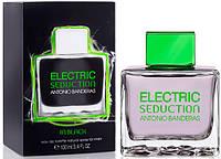 Мужская туалетная вода Antonio Banderas Electric Seduction In Black (Антонио Бандерас Электрик Седакшн Блек)