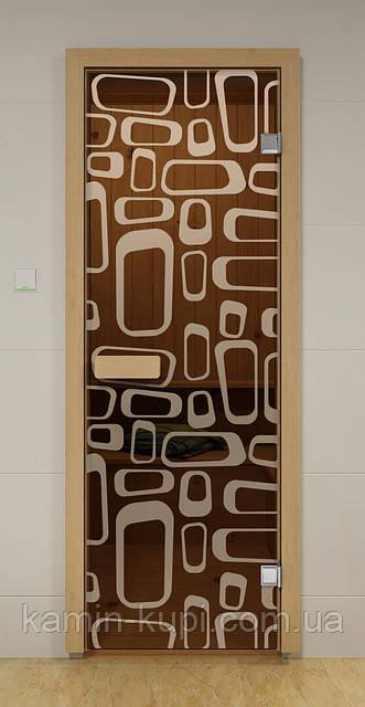 Дверь для бани и сауны ТРАФИК ALDO 790х1990 мм, фото 1