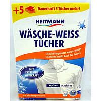 Отбеливающие салфетки Heitmann weiss