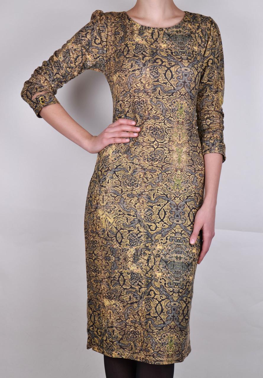 Платье с узором абстракция (WZ8) | 2 шт.