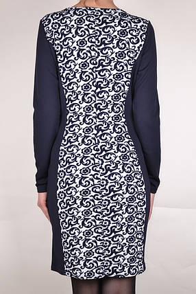 Платье со вставкой Вензеля (WZ223), фото 2