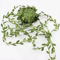 Тесьма с листьями