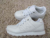 Кроссовки NB белые, фото 1