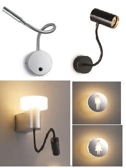 Бра, светильники для гостиниц