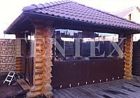 Тенты шторы из мягкого пвх. , фото 1