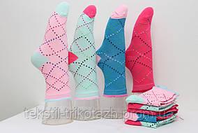 Носки Детские подростковые ромбик  (уп. 12шт.), фото 2