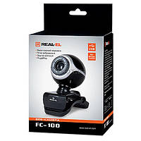 Веб камера REAL-EL FC-100