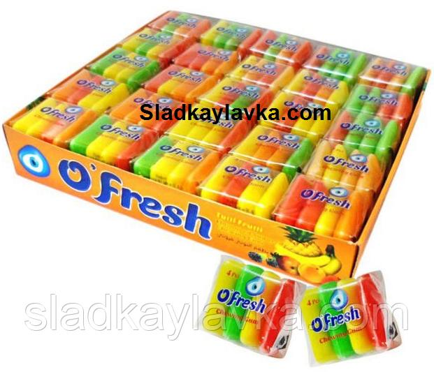Жевательная резинка O'Fresh дисплей 50 шт (Saadet)